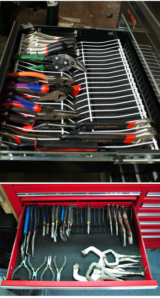 Best ideas about DIY Plier Organizer . Save or Pin Pin by HANSOL KIM on Workspace Jeweler Mechanic Now.