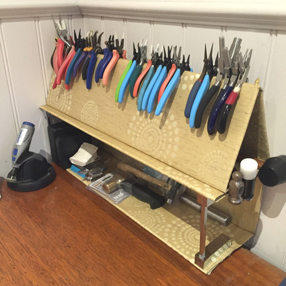 Best ideas about DIY Plier Organizer . Save or Pin Pliers Rack DIY upgrade ・ClearlyHelena Now.