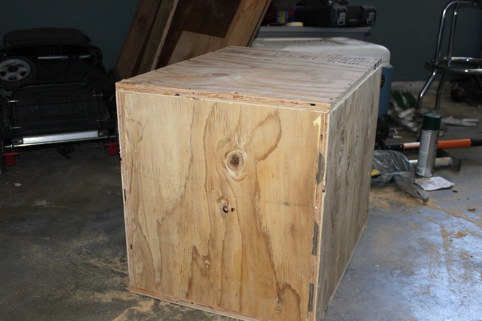 Best ideas about DIY Plyometric Box . Save or Pin Broke Guy s Gym DIY 3 sided Plyo Boxes Now.