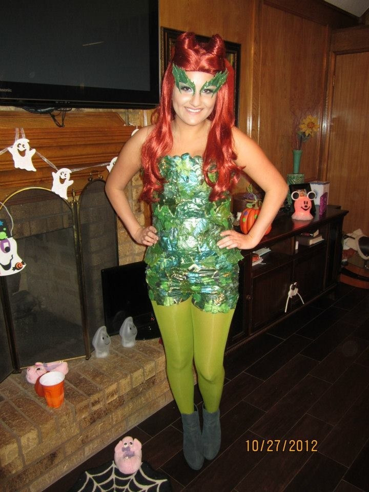 Best ideas about DIY Poison Ivy Costume . Save or Pin DIY Poison Ivy Costume Boo Pinterest Now.