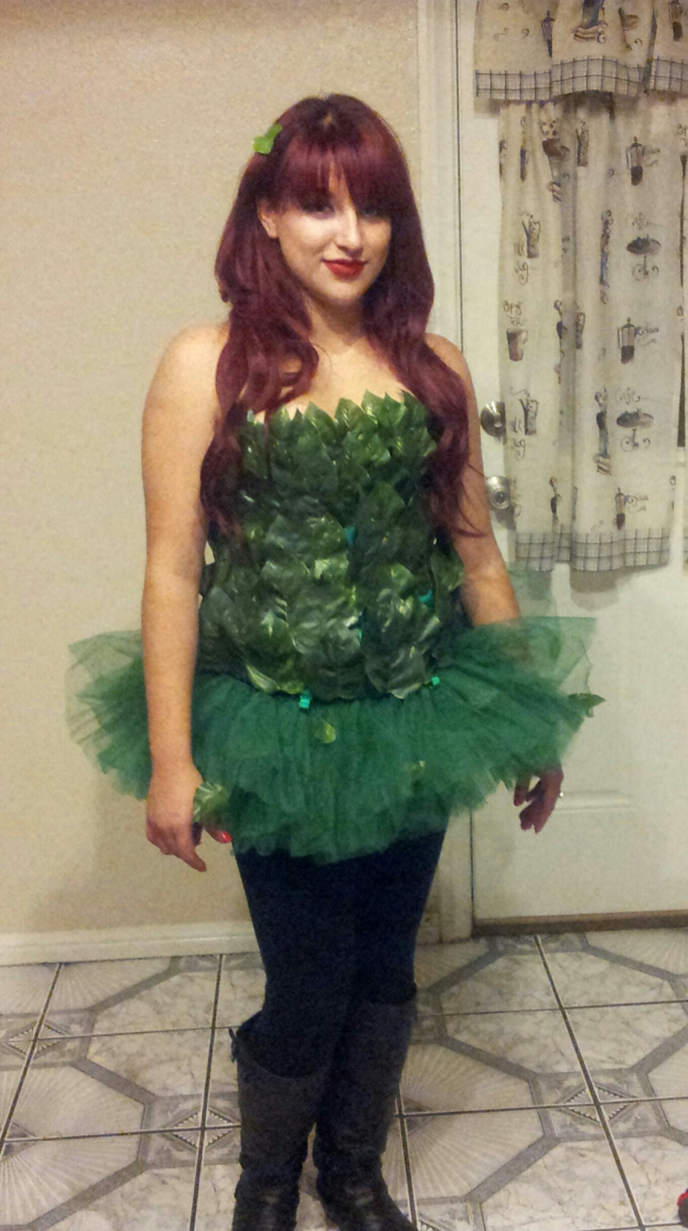 Best ideas about DIY Poison Ivy Costume . Save or Pin How to make a Poison Ivy Halloween Costume Now.