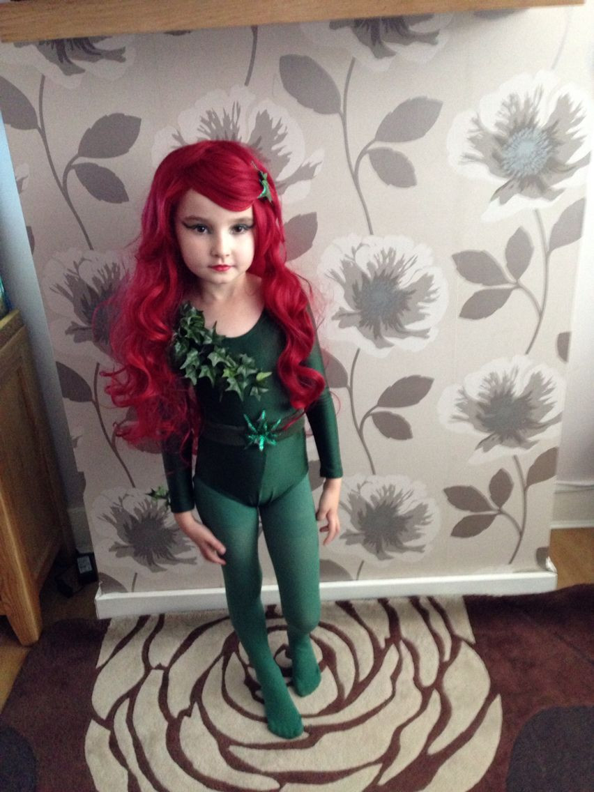 Best ideas about DIY Poison Ivy Costume . Save or Pin Poison Ivy homemade childrens Halloween costume Now.