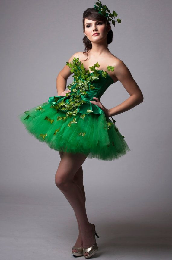 Best ideas about DIY Poison Ivy Costume . Save or Pin Custom Poison Ivy Green Dress Costume Prom Halloween Now.