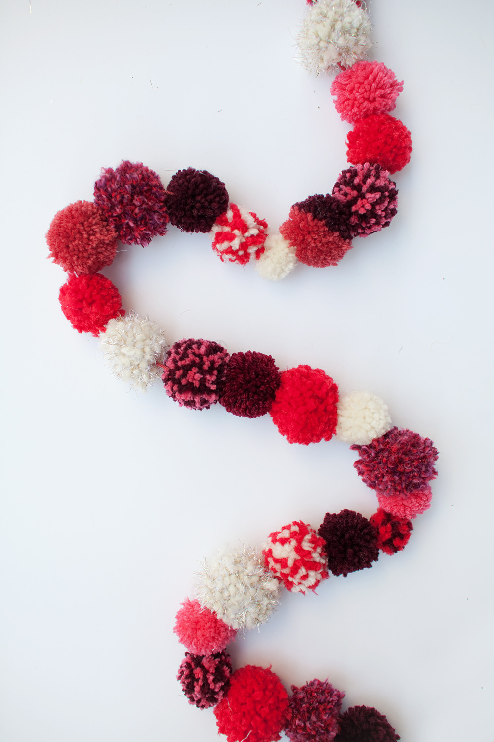Best ideas about DIY Pom Pom Garland . Save or Pin TELL DIY CHRISTMAS POM POM GARLAND Tell Love and Party Now.