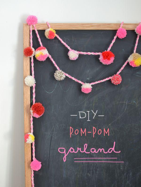 Best ideas about DIY Pom Pom Garland . Save or Pin 25 best ideas about Pom pom garland on Pinterest Now.