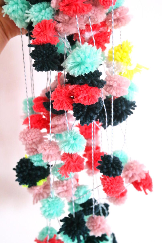 Best ideas about DIY Pom Pom Garland . Save or Pin DIY Pom Pom Garland Now.