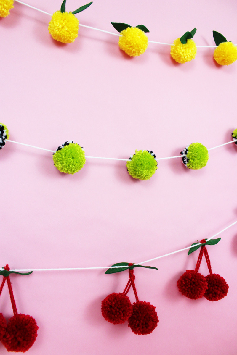 Best ideas about DIY Pom Pom Garland . Save or Pin 6 Steps For The Best DIY Pom Pom Garland • A Subtle Revelry Now.