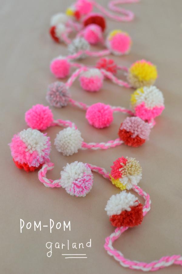 Best ideas about DIY Pom Pom Garland . Save or Pin DIY Pom Pom Garland ARTBAR Now.
