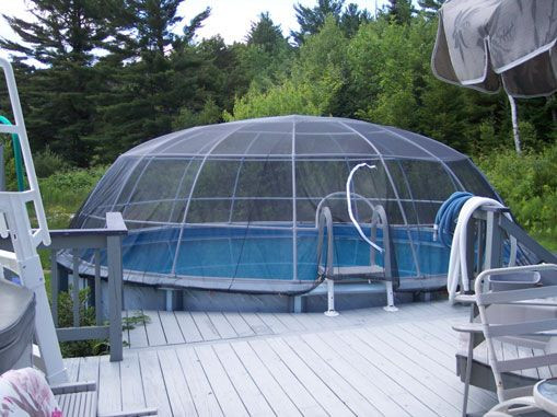 Best ideas about DIY Pool Enclosure . Save or Pin I think I can turn this into a DIY Pool Dome Now.