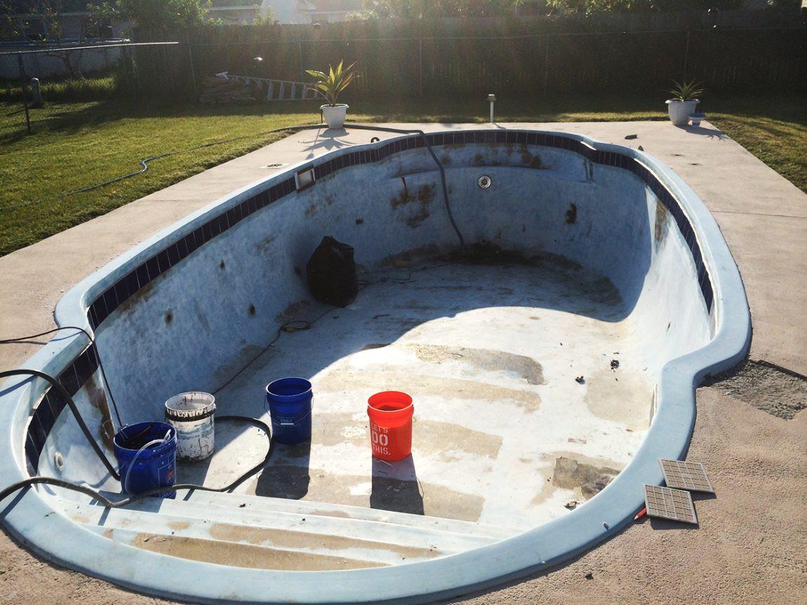 Best ideas about DIY Pool Plaster Repair . Save or Pin pool resurfacing Aqua Guard 5000 Now.