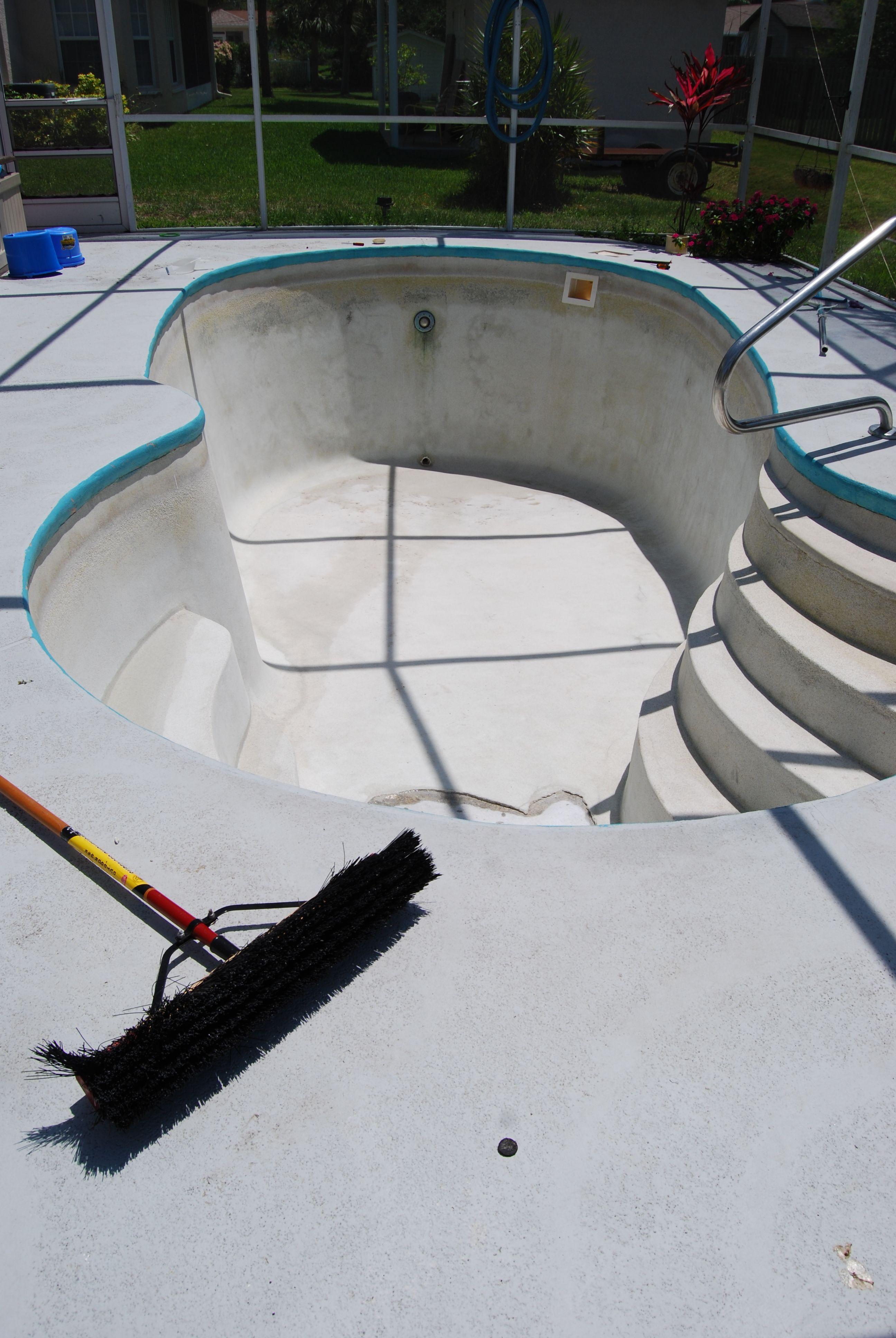 Best ideas about DIY Pool Plaster Repair . Save or Pin DIY pool repairs Home Now.