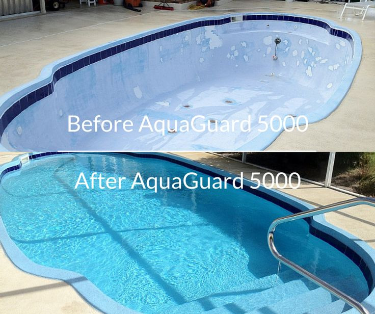 Best ideas about DIY Pool Plaster Repair . Save or Pin Repair resurface and refinish pool with AquaGuard 5000 Now.