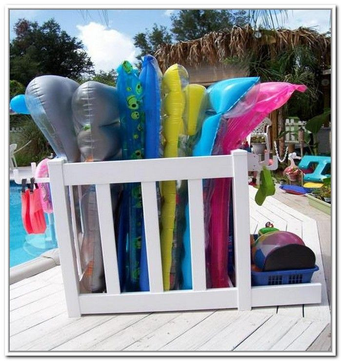 Best ideas about DIY Pool Toys . Save or Pin Pool Float Storage Unit Pool Now.