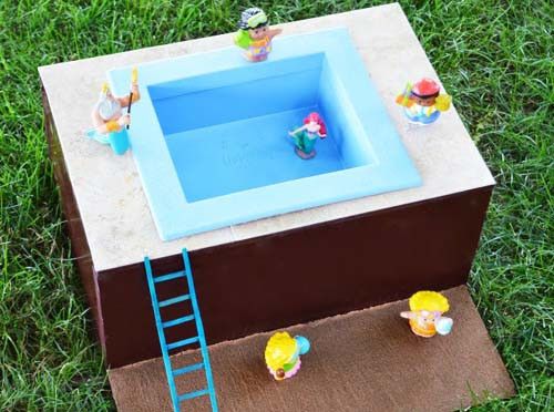Best ideas about DIY Pool Toys . Save or Pin Discover Lifestyle DIY Mini Pool For Small Kids Now.