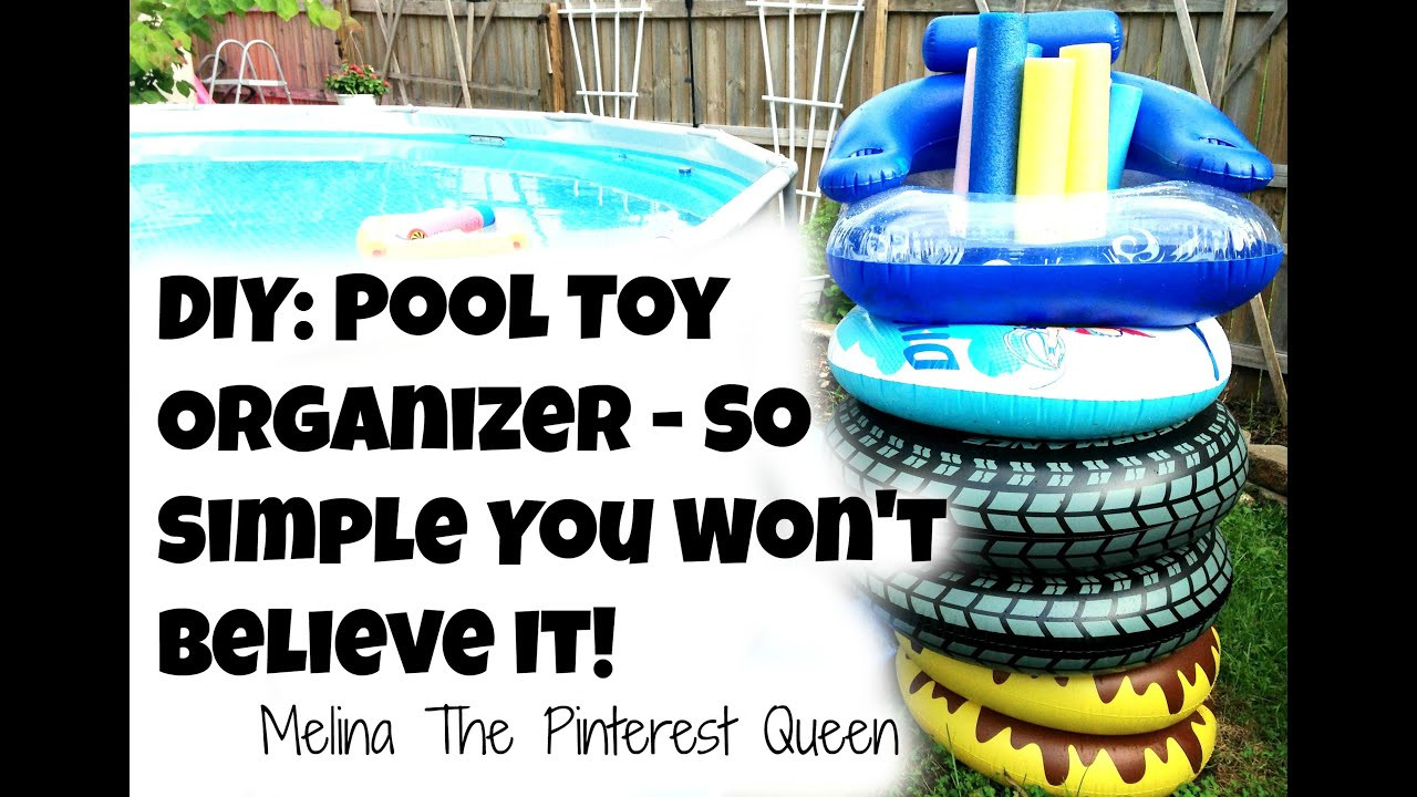 Best ideas about DIY Pool Toys . Save or Pin DIY Pool Toy Organizer So Simple You Won t Believe It Now.