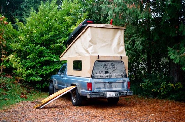 Best ideas about DIY Pop Up Camper . Save or Pin Overlandia Pickup Truck Camper Trevor Gordon – Truck Now.