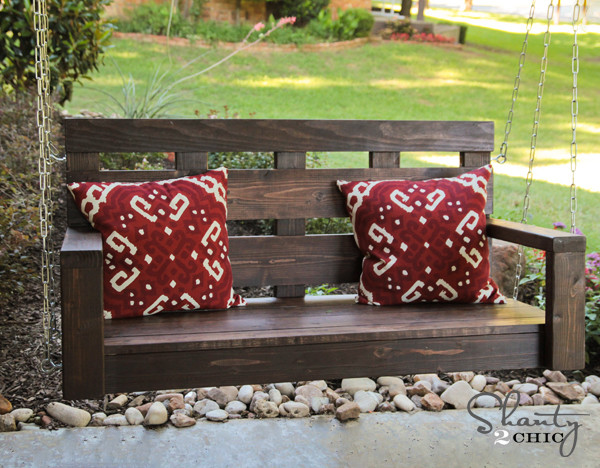 Best ideas about DIY Porch Swing . Save or Pin Porch Swing DIY Shanty 2 Chic Now.