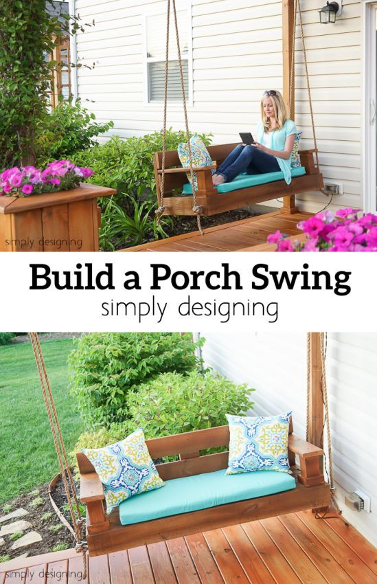 Best ideas about DIY Porch Swing . Save or Pin Build A Porch Swing Now.