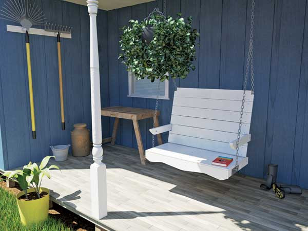 Best ideas about DIY Porch Swing . Save or Pin DIY Porch Swing Plans Tools GRIT Magazine Now.