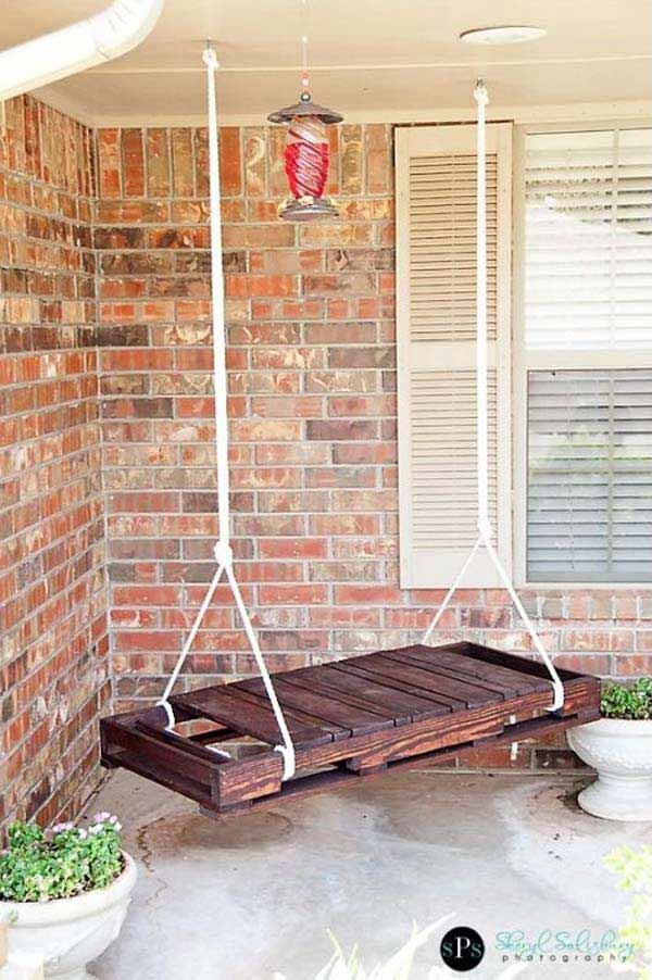 Best ideas about DIY Porch Swing . Save or Pin 22 Amazingly DIY Patio and Garden Swings Now.