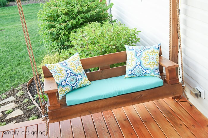 Best ideas about DIY Porch Swing . Save or Pin Porch Swing Building Plans and Supply List Now.