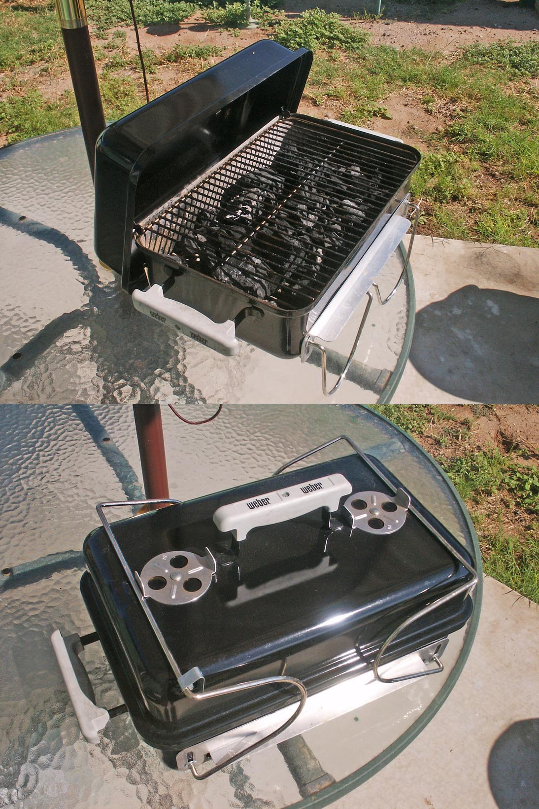 Best ideas about DIY Portable Charcoal Grill . Save or Pin Diy weber grill table plans inkra Now.