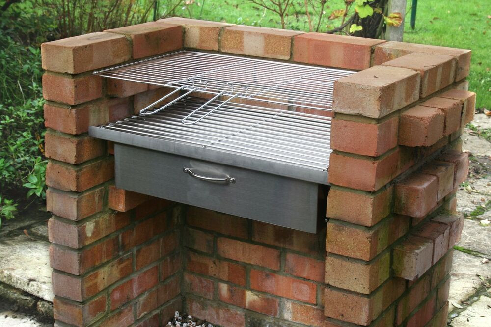 Best ideas about DIY Portable Charcoal Grill . Save or Pin HEAVY DUTY DIY Brick Charcoal BBQ Kit & Oven Cupboard Now.