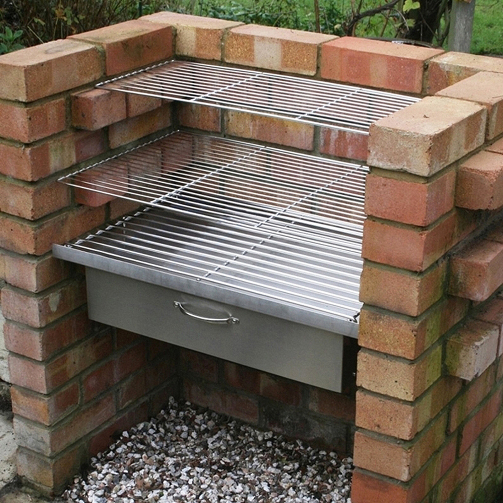 Best ideas about DIY Portable Charcoal Grill . Save or Pin DIY Brick BBQ System plete Set Grills Warming Draw Now.