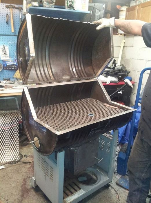 Best ideas about DIY Portable Charcoal Grill . Save or Pin Diy grill smoker DIY Now.