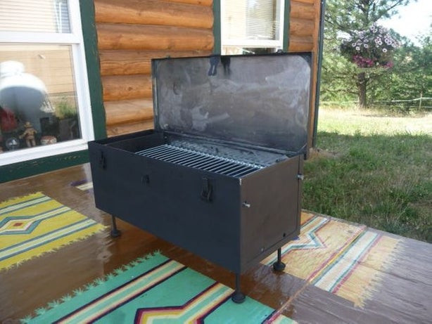 Best ideas about DIY Portable Charcoal Grill . Save or Pin DIY Portable Toolbox Grill Improved Now.
