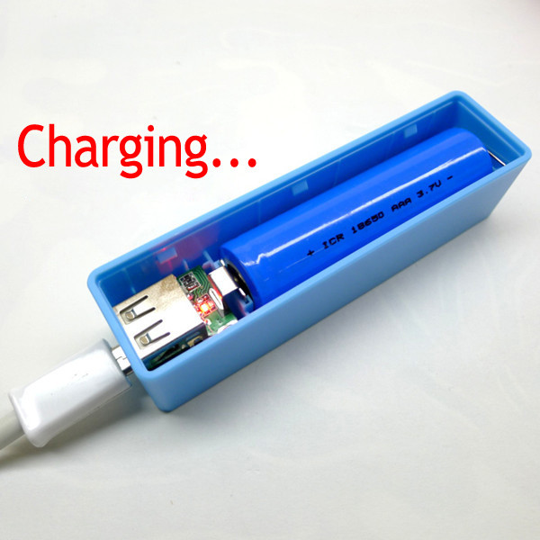 Best ideas about DIY Portable Charger . Save or Pin Portable Mobile Power USB DIY Battery Charger For Now.