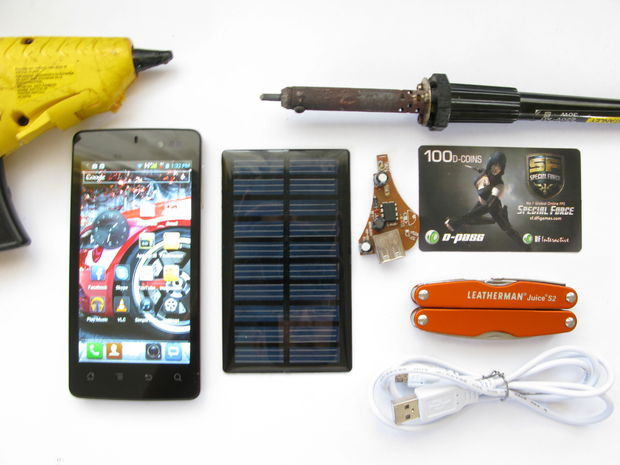 Best ideas about DIY Portable Charger . Save or Pin DIY Solar Phone Charger $5 Battery Free UPDATED Now.