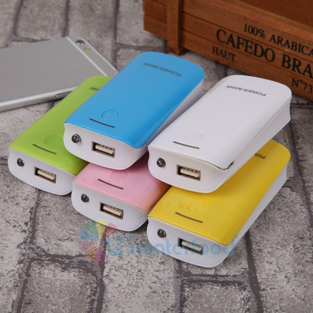 Best ideas about DIY Portable Charger . Save or Pin Portable 8000mAh USB External Power Bank Case DIY Pack Box Now.