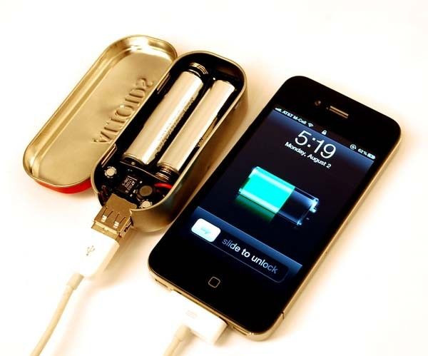 Best ideas about DIY Portable Charger . Save or Pin DIY Portable Cell Charger Impressive DIY Now.