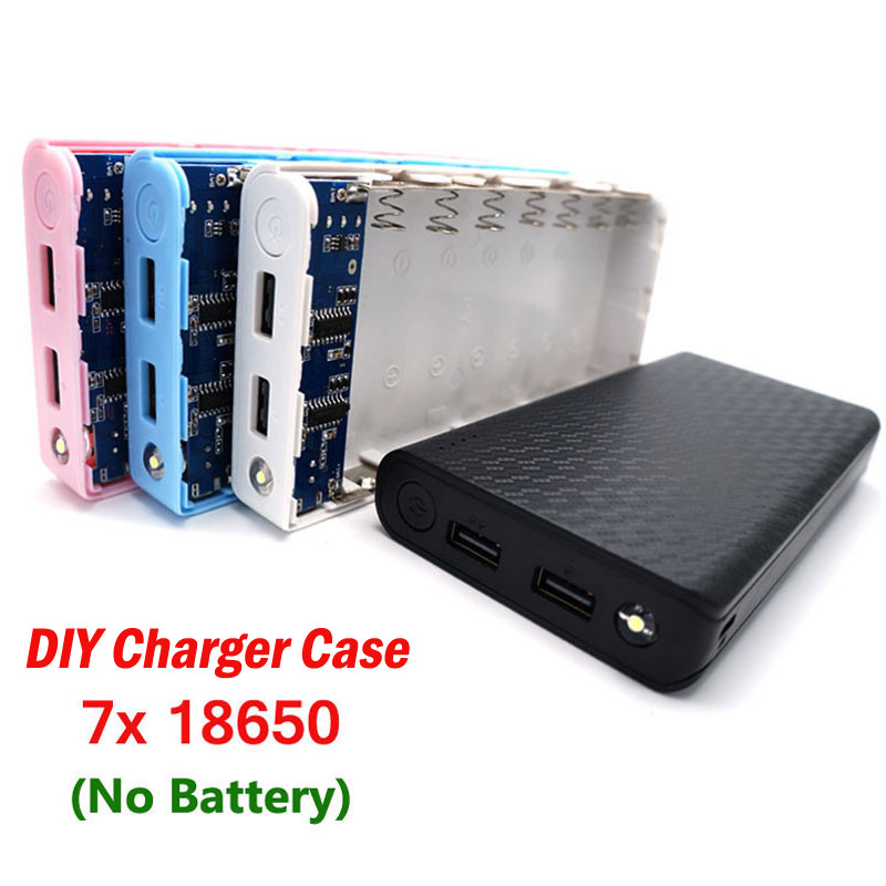 Best ideas about DIY Portable Charger . Save or Pin Aliexpress Buy no battery 7x LED USB Portable Now.