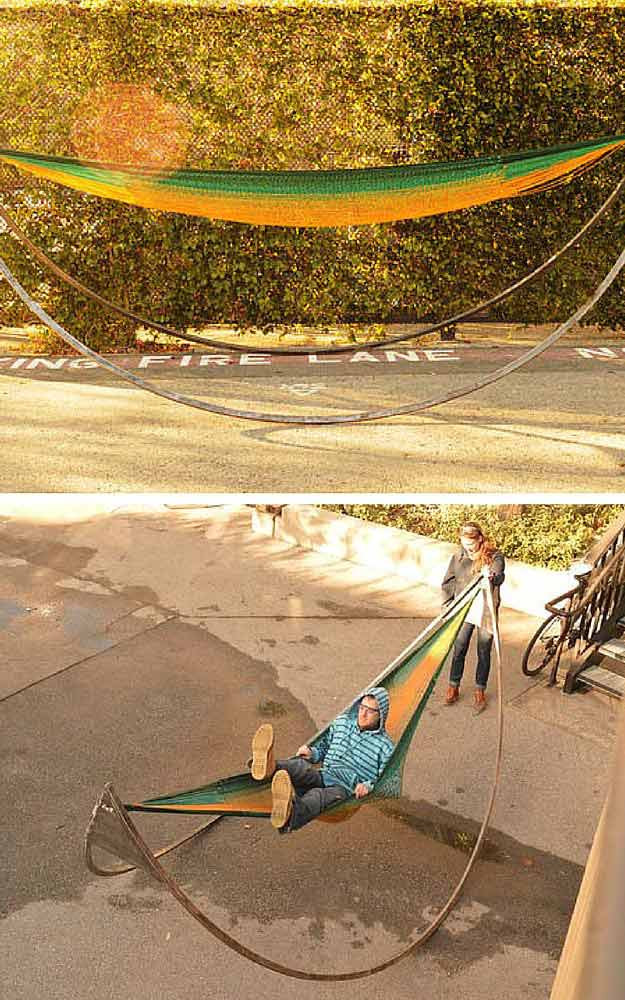 Best ideas about DIY Portable Hammock Stand . Save or Pin DIY Hammock Stand Now.
