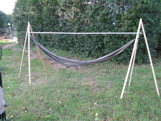 Best ideas about DIY Portable Hammock Stand . Save or Pin Portable Hammock Stand Hammock Forums Gallery Now.