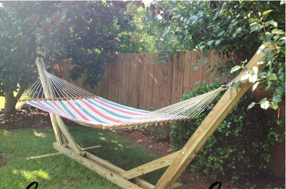 Best ideas about DIY Portable Hammock Stand . Save or Pin 30 DIY Hammock Stand and Hammocks to Build This Summer Now.