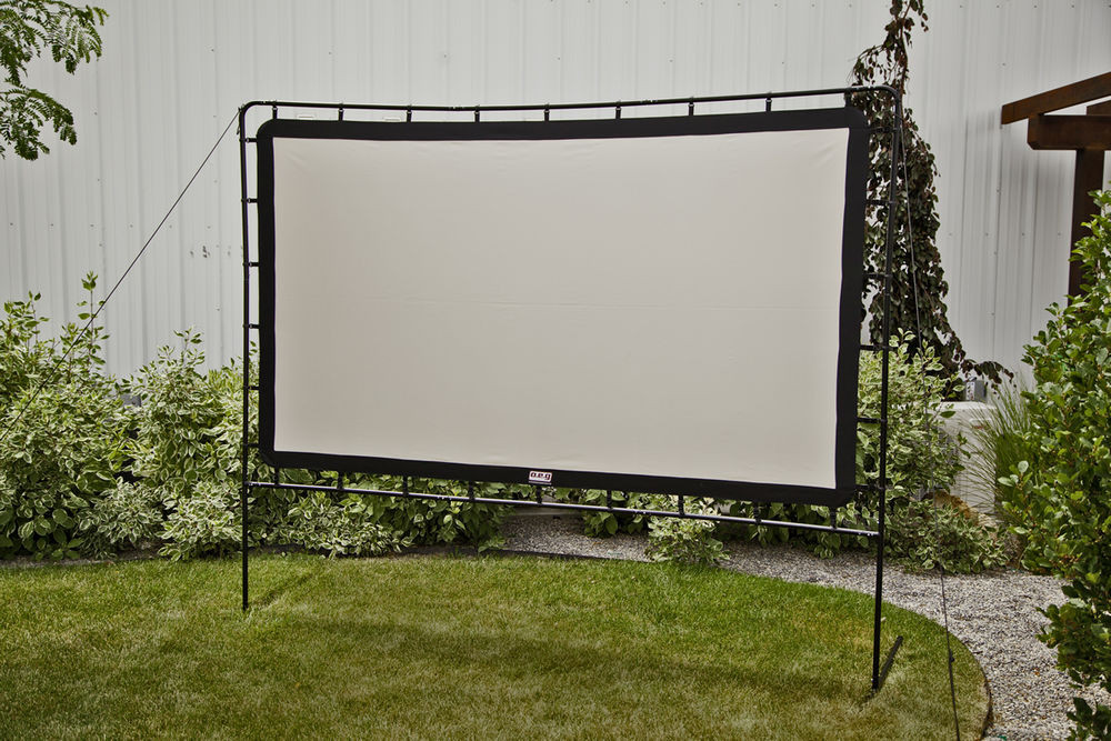 Best ideas about DIY Portable Projection Screen . Save or Pin Outdoor Entertainment Gear Curved Portable Movie Now.