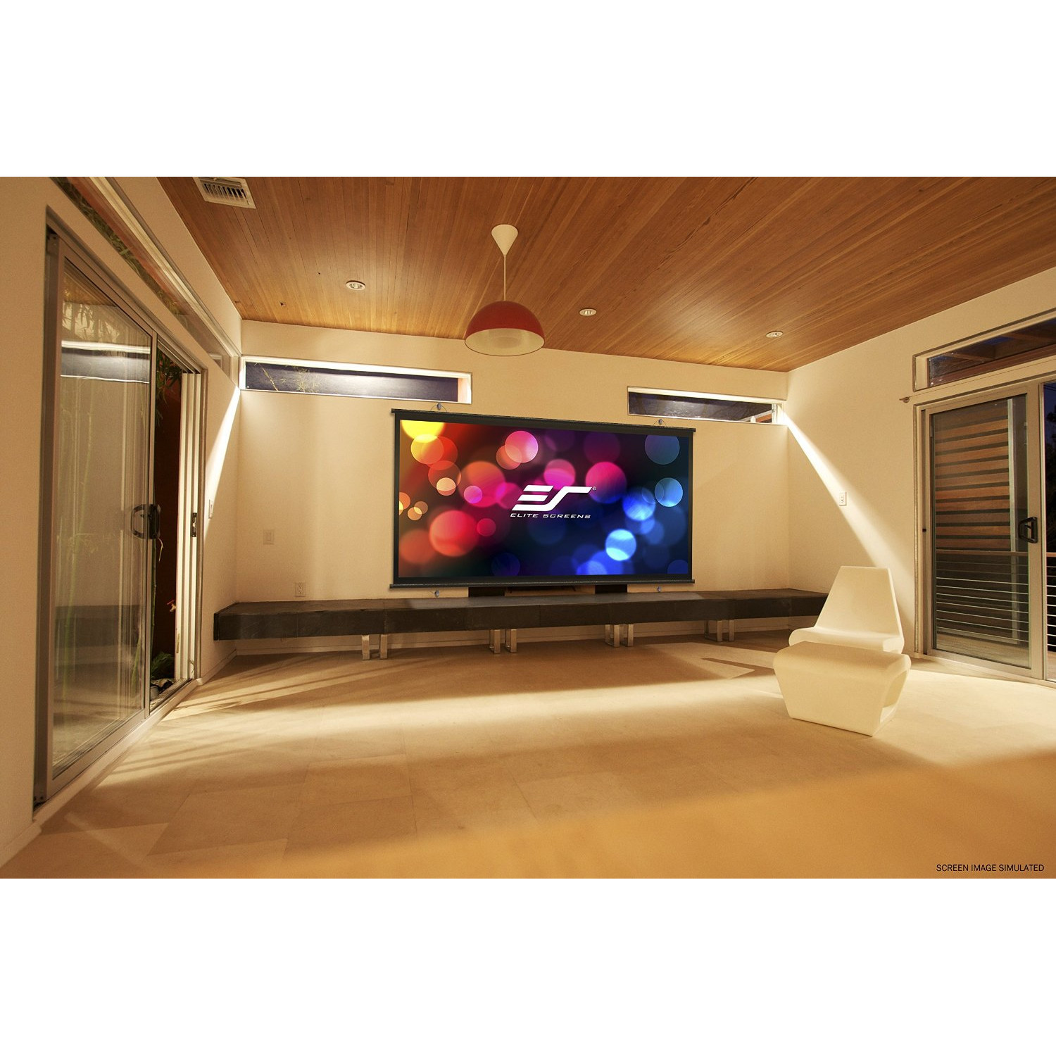 Best ideas about DIY Portable Projection Screen . Save or Pin Elite Screens DIY White Portable Projection Screen Now.