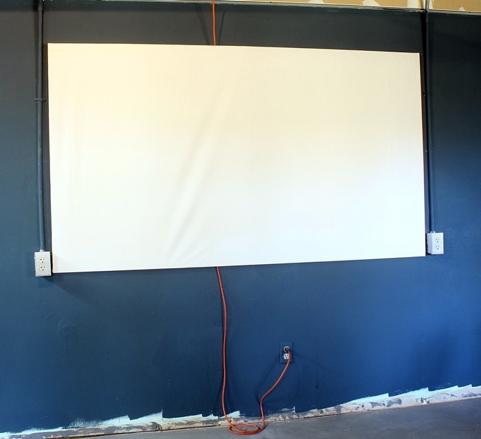 Best ideas about DIY Portable Projection Screen . Save or Pin DIY Projector Screen for less than $20 Now.
