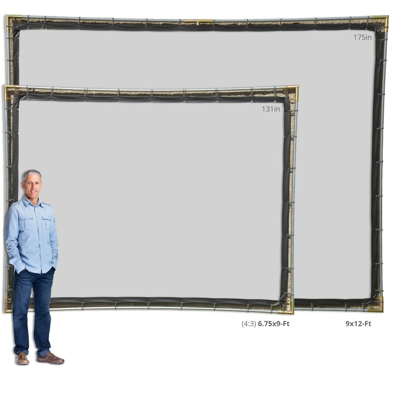 Best ideas about DIY Portable Projection Screen . Save or Pin Hanging Projector Screen Kit Portable Projection Screens Now.