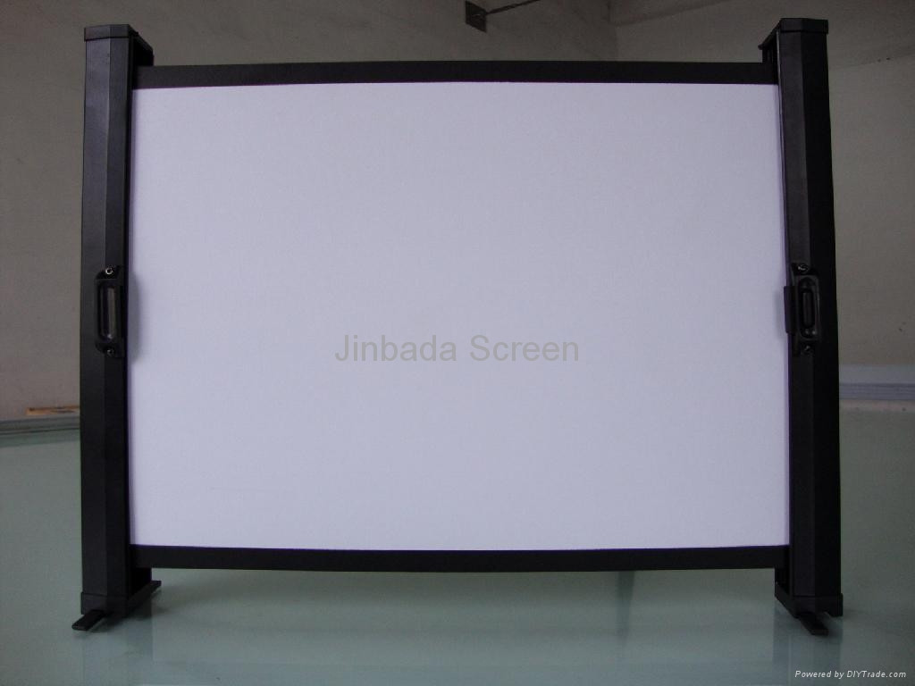 "Best ideas about DIY Portable Projection Screen . Save or Pin table mini portable projection screen 20"" 30"" 40"" 50 Now."