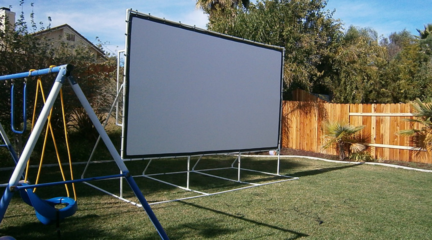 Best ideas about DIY Portable Projection Screen . Save or Pin Carl s Place Projector Screens Now.