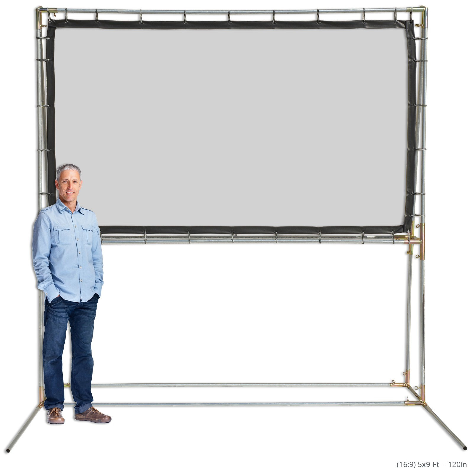 Best ideas about DIY Portable Projection Screen . Save or Pin Freestanding Movie Screen Kits Outdoor Projection Screens Now.