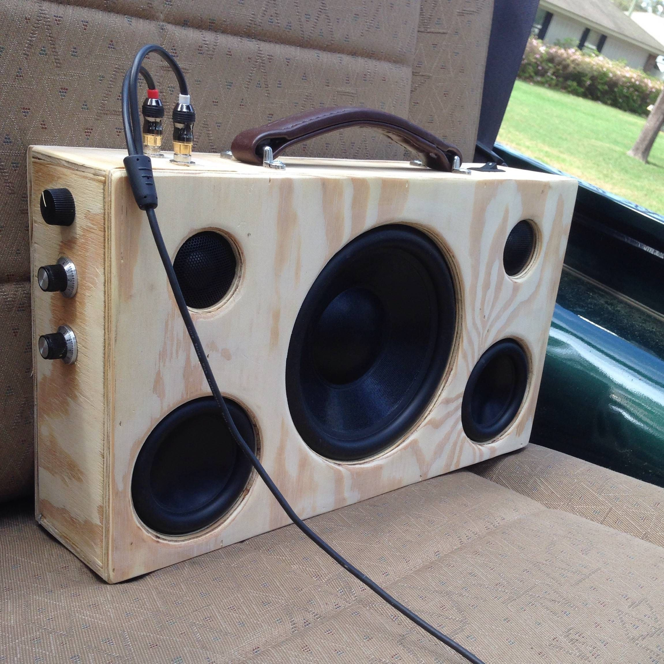 "Best ideas about DIY Portable Speakers . Save or Pin My latest portable speaker 8"" sub 2 4"" mids and 2 Now."
