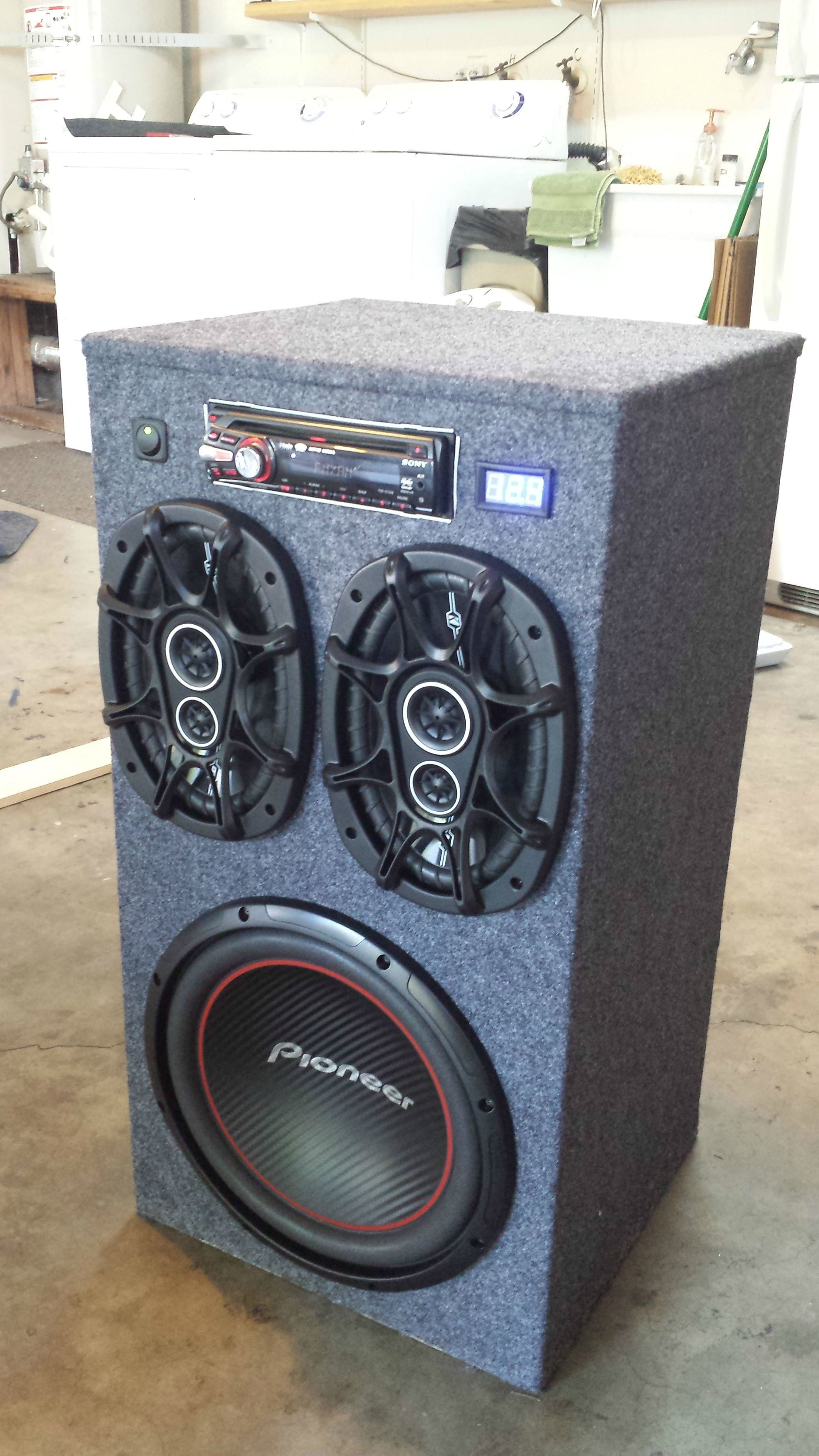 Best ideas about DIY Portable Speakers . Save or Pin DIY Portable Stereo Now.