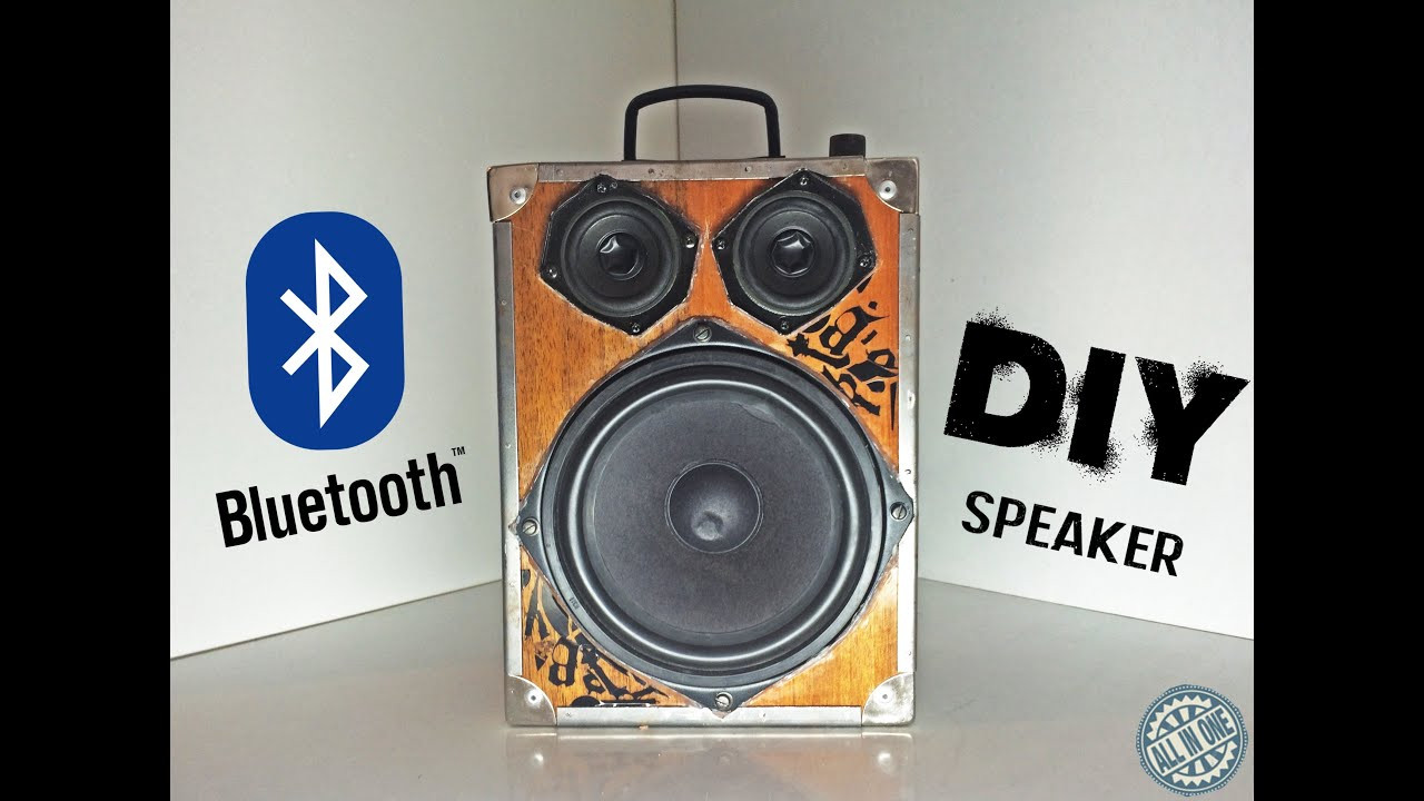 Best ideas about DIY Portable Speakers . Save or Pin DIY How To Make Bluetooth Portable Speaker Now.