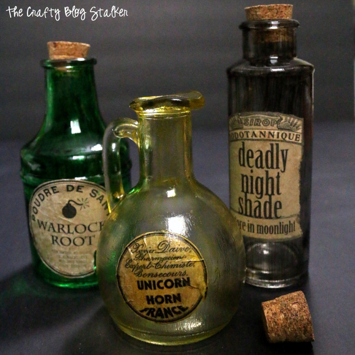 Best ideas about DIY Potion Bottles . Save or Pin How to Make Potion Bottles for Halloween Now.