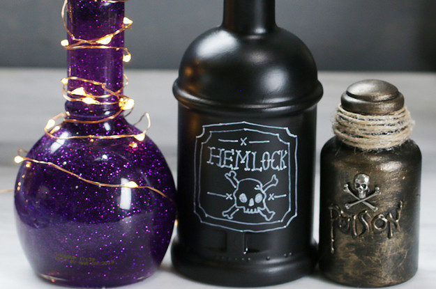 Best ideas about DIY Potion Bottles . Save or Pin These DIY Potion Bottles Are Perfect Spooky Halloween Decor Now.